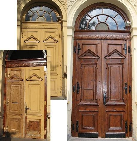 Renovace dveří